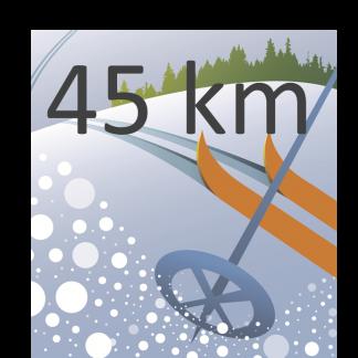 Puoli-Pirkka (45 km)